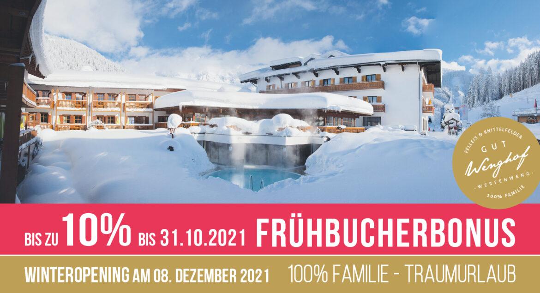 Winter Frühbucherbonus